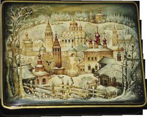 Unbelievable Russian Lacquer Boxes 10