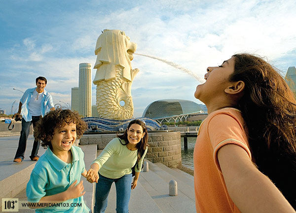 The Merlion Of The Lion City How Singapore S Icon And